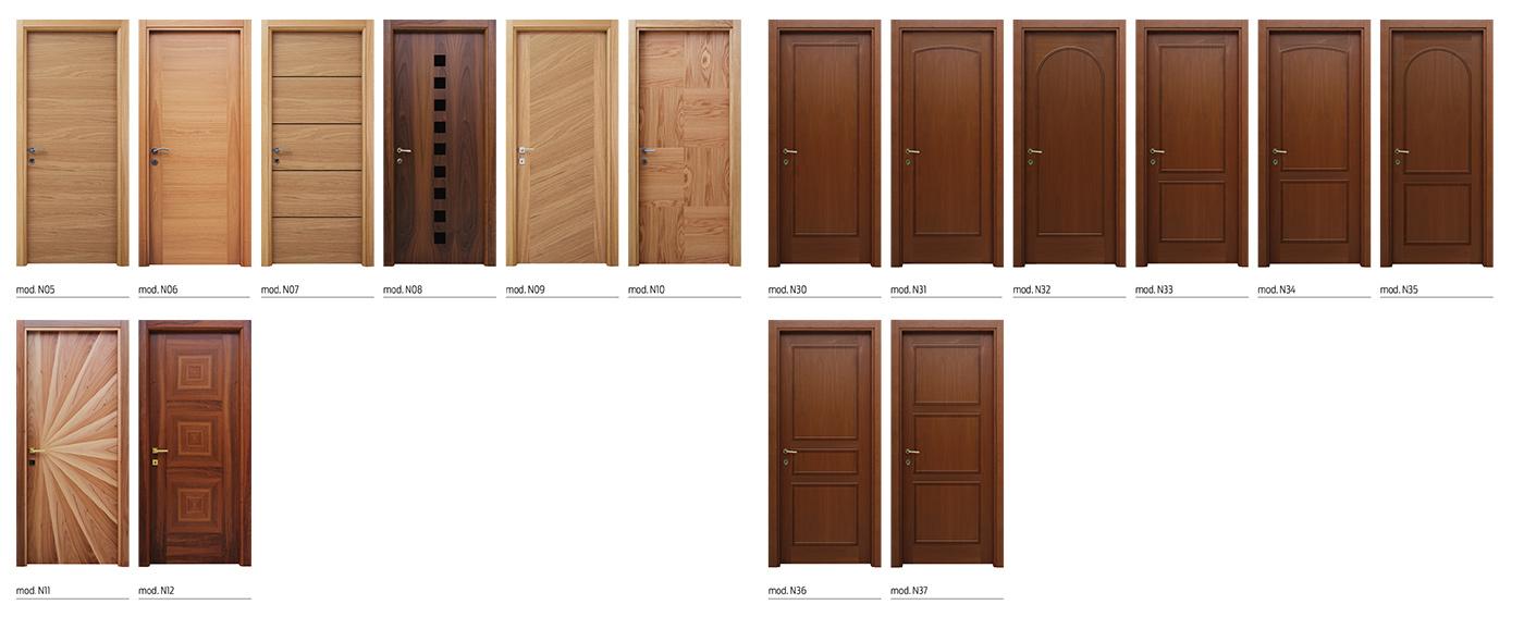 Mille porte tende porte in legno flessya - Modelli porte interne legno ...